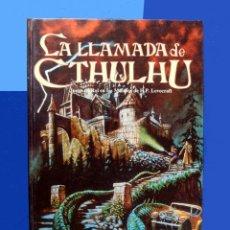 Juegos Antiguos: LA LLAMADA DE CTHULHU - JUEGO DE ROL - JOC INTERNACIONAL 1990 - H. P. LOVECRAFT - CHAOSIUM INC. Lote 151551162