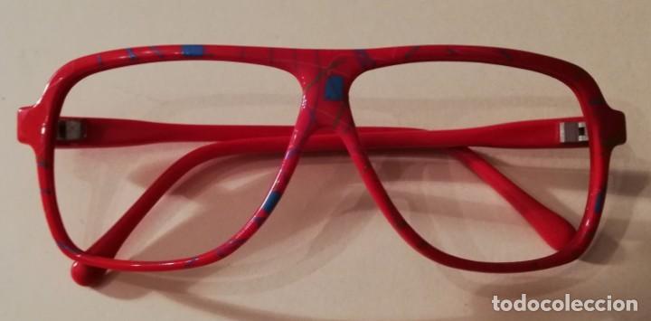Juegos Antiguos: Gafas de juguete, sin cristal. Para jugar o disfraz. - Foto 2 - 151622438