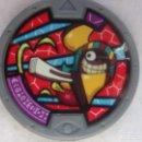 Juegos Antiguos: MEDALLA YO-KAI SERIE 2 - ILADION. Lote 152052830