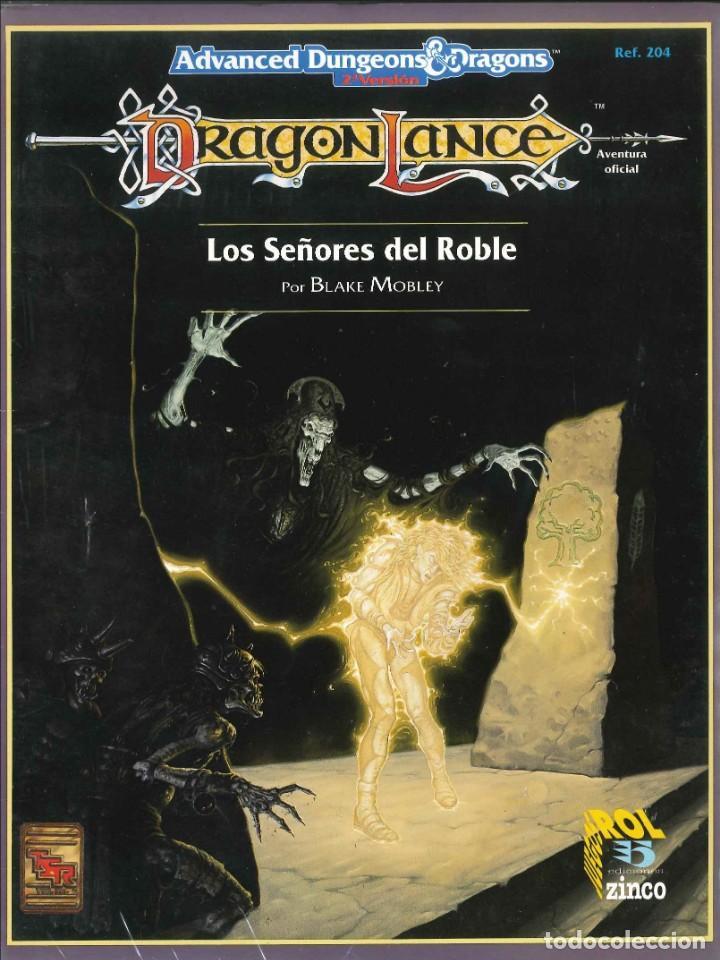 JUEGO DE ROL LIBRO DE ROL ADVANCE DUNGEONS & DRAGONS DRAGONLANCE: LOS SEÑORES DEL ROBLE (Juguetes - Rol y Estrategia - Juegos de Rol)