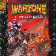 Juegos Antiguos: JUEGO DE ROL LIBRO DE ROL WARZONE EL ALBA DE LA GUERRA MUTANT CHRONICLES. Lote 152128290
