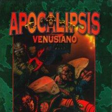 Juegos Antiguos: JUEGO DE ROL LIBRO DE ROL WARZONE APOCALIPSIS VENUSIANO MUTANT CHRONICLES. Lote 152131258