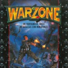Juegos Antiguos: WARZONE UN VERTIGINOSO JUEGO DE BATALLAS CON MINIATURAS TARGET GAMES. Lote 152140382
