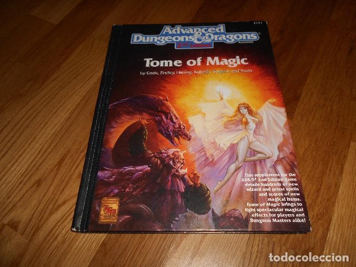 JUEGO DE ROL DRAGONES Y MAZMORRAS TOME OF MAGIC 1991 ADVANCED DUNGEONS & DRAGONS 2ND EDITION (Juguetes - Rol y Estrategia - Juegos de Rol)