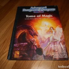 Juegos Antiguos: JUEGO DE ROL DRAGONES Y MAZMORRAS TOME OF MAGIC 1991 ADVANCED DUNGEONS & DRAGONS 2ND EDITION. Lote 152201650