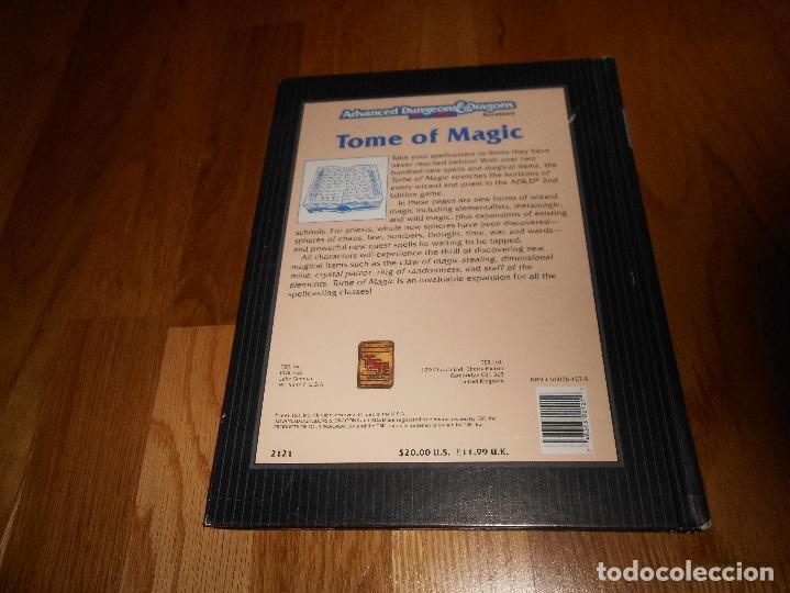 Juegos Antiguos: JUEGO DE ROL DRAGONES Y MAZMORRAS TOME OF MAGIC 1991 ADVANCED DUNGEONS & DRAGONS 2ND EDITION - Foto 6 - 152201650