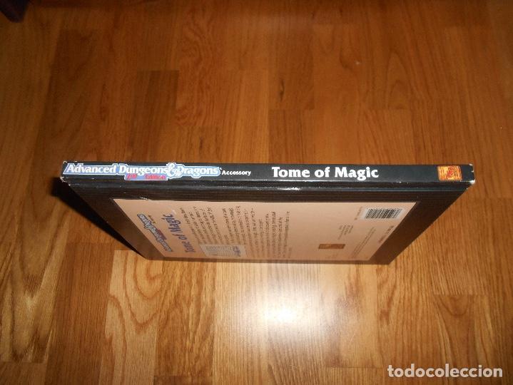 Juegos Antiguos: JUEGO DE ROL DRAGONES Y MAZMORRAS TOME OF MAGIC 1991 ADVANCED DUNGEONS & DRAGONS 2ND EDITION - Foto 7 - 152201650