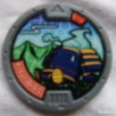 Juegos Antiguos: MEDALLA YO-KAI SERIE 2 - LORIGON. Lote 152366202