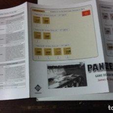 Juegos Antiguos: ESCENARIOS PARA PANZER DE GMT. Lote 152911042