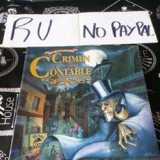 Juegos Antiguos: EL CASO DEL CRIMEN DEL CONTABLE HELIOPOLIS LA LÍNEA DE LA SONBRA. Lote 153543953