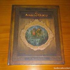 Juegos Antiguos: EL ANILLO ÚNICO JUEGO DE ROL SEÑOR DE LOS ANILLOS TIERRA MEDIA DEVIR PRECINTADO. Lote 154109534