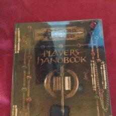 Juegos Antiguos: DUNGEONS DRAGONS PLAYER,S HANOBOOK CORE RULEBOOK I BUEN ESTADO REF.CF-2. Lote 154483234