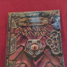Juegos Antiguos: DUNGEONS DRAGONS MONSTER MANUAL CORE RULEBOOK III BUEN ESTADO REF.CF-2. Lote 154483346
