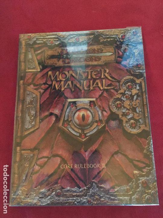 DUNGEONS DRAGONS MONSTER MANUAL CORE RULEBOOK III BUEN ESTADO REF.CF-2 (Juguetes - Rol y Estrategia - Juegos de Rol)