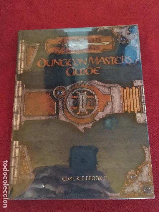 DUNGEONS DRAGONS DUNGEON MASTER,S GUIDE CORE RULEBOOK II BUEN ESTADO REF.CF-2 (Juguetes - Rol y Estrategia - Juegos de Rol)