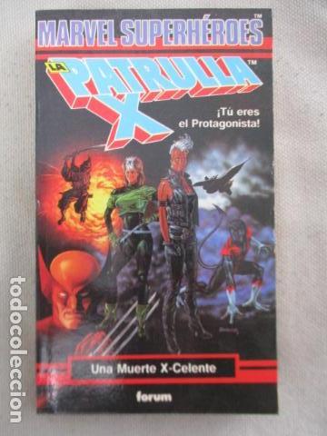 LIBROJUEGO MARVEL SUPERHÉROES Nº 2 / LA PATRULLA X / UNA MUERTE X - CELENTE / FORUM TSR RPG 1988 (Juguetes - Rol y Estrategia - Juegos de Rol)