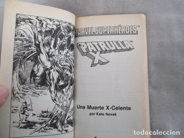 Juegos Antiguos: Librojuego Marvel Superhéroes Nº 2 / La Patrulla X / Una Muerte X - Celente / Forum TSR RPG 1988 - Foto 6 - 220658883