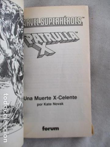 Juegos Antiguos: Librojuego Marvel Superhéroes Nº 2 / La Patrulla X / Una Muerte X - Celente / Forum TSR RPG 1988 - Foto 7 - 220658883