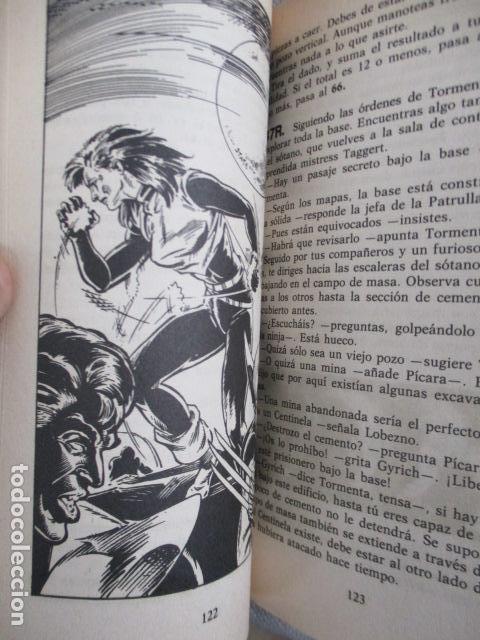 Juegos Antiguos: Librojuego Marvel Superhéroes Nº 2 / La Patrulla X / Una Muerte X - Celente / Forum TSR RPG 1988 - Foto 11 - 220658883