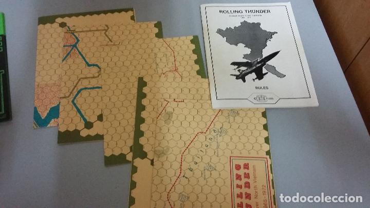 Juegos Antiguos: Wargame rolling thunder. Group 3 games - Foto 4 - 154963930