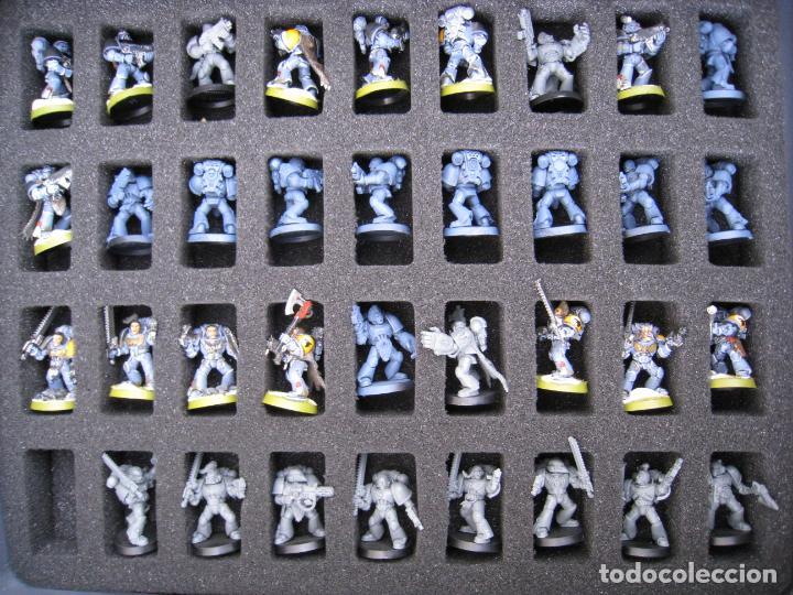 Juegos Antiguos: MALETA CON FIGURAS WARHAMMER. - Foto 7 - 155829262