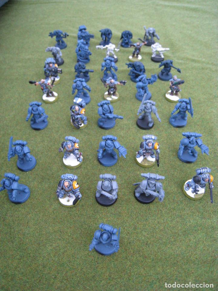 Juegos Antiguos: MALETA CON FIGURAS WARHAMMER. - Foto 21 - 155829262