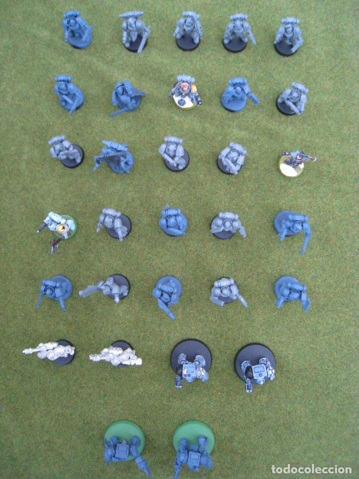 Juegos Antiguos: MALETA CON FIGURAS WARHAMMER. - Foto 49 - 155839354