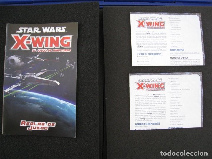 Juegos Antiguos: STAR WARS X-WING - EL JUEGO DE MINIATURAS. - Foto 4 - 155824946