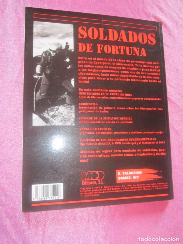 Juegos Antiguos: SOLDADO DE FORTUNA PARA JUEGO DE ROL CIBERPUNK - Foto 3 - 156037958