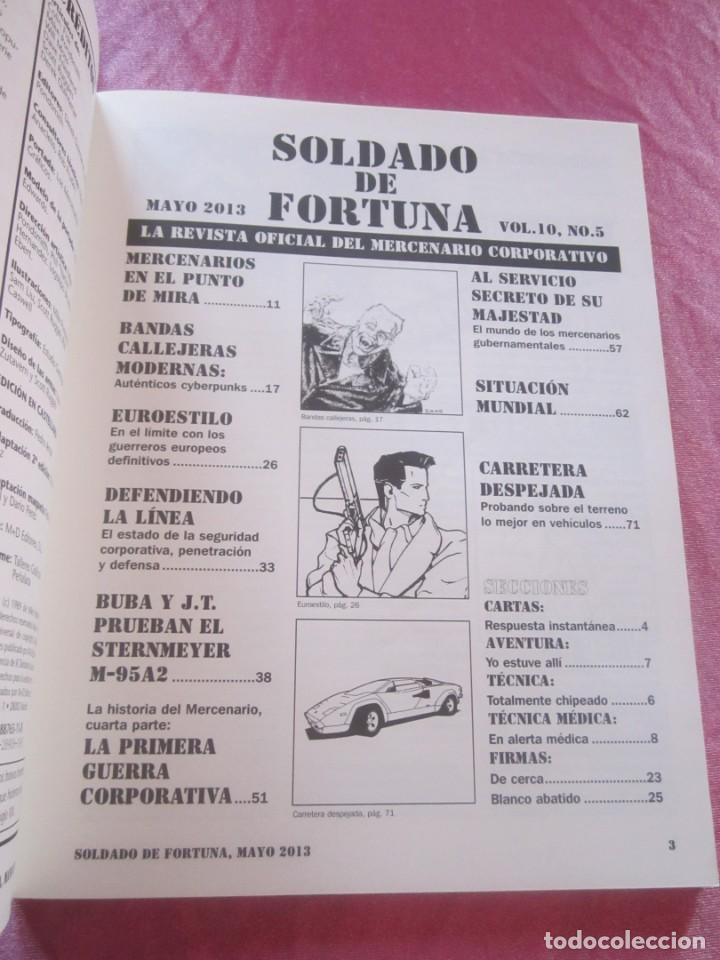 Juegos Antiguos: SOLDADO DE FORTUNA PARA JUEGO DE ROL CIBERPUNK - Foto 6 - 156037958