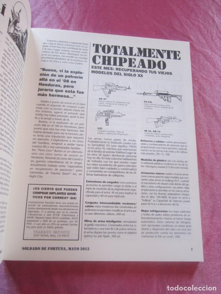Juegos Antiguos: SOLDADO DE FORTUNA PARA JUEGO DE ROL CIBERPUNK - Foto 7 - 156037958