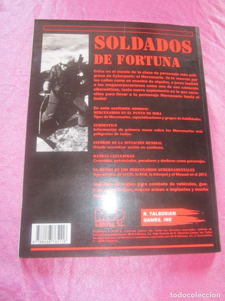 Juegos Antiguos: SOLDADO DE FORTUNA PARA JUEGO DE ROL CIBERPUNK - Foto 8 - 156037958
