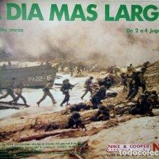 Juegos Antiguos: JUEGO NAC EL DIA MAS LARGO TROQUELADO A ESTRENAR. Lote 173836995