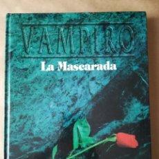 Juegos Antiguos: LIBRO ROL VAMPIRO LA MASCARADA 1001 SEGUNDA VERSIÓN. Lote 157860874