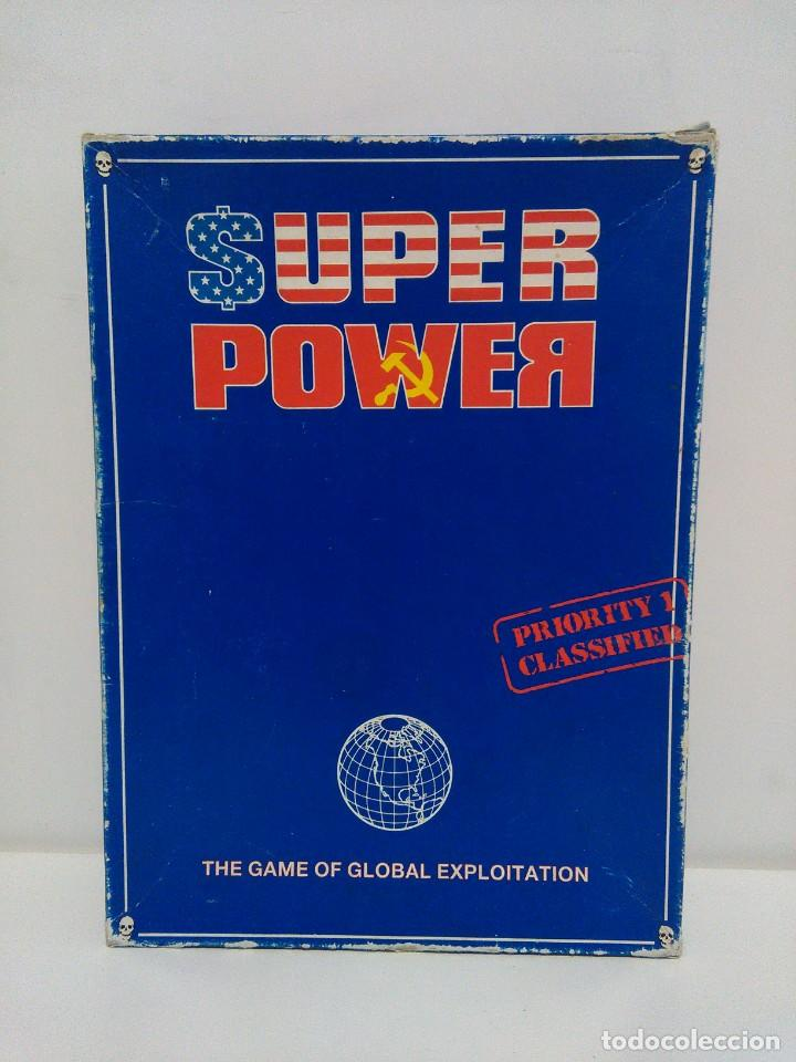 SUPER POWER - THE GAME OF GLOBAL EXPLOITATION - GAMES WORKSHOP - IDIOMA INGLÉS (Juguetes - Rol y Estrategia - Otros)