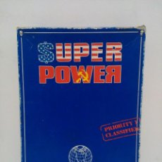 Juegos Antiguos: SUPER POWER - THE GAME OF GLOBAL EXPLOITATION - GAMES WORKSHOP - IDIOMA INGLÉS. Lote 159052182