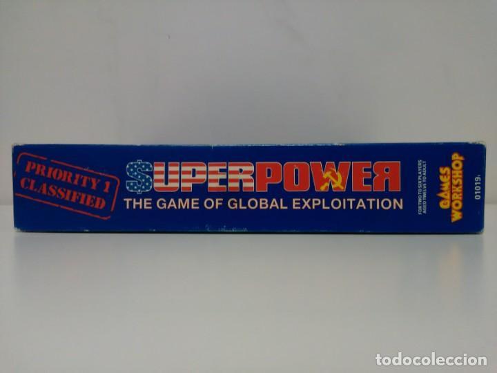 Juegos Antiguos: Super Power - The game of Global Exploitation - Games Workshop - Idioma Inglés - Foto 8 - 159052182