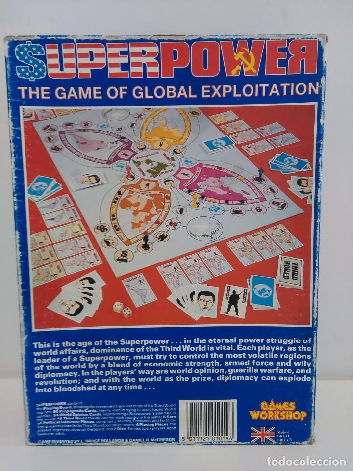 Juegos Antiguos: Super Power - The game of Global Exploitation - Games Workshop - Idioma Inglés - Foto 11 - 159052182