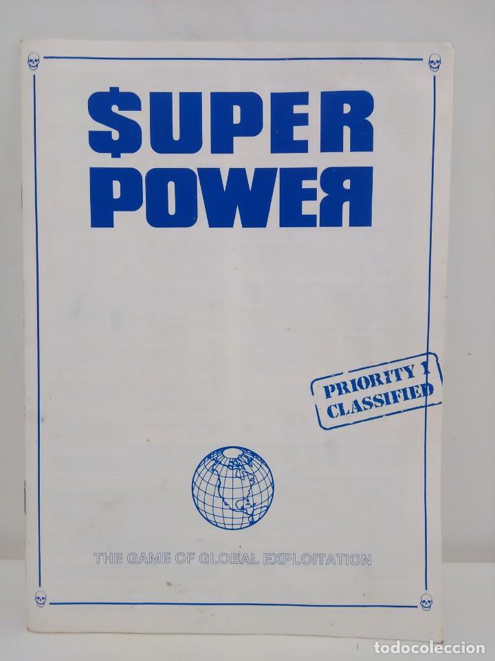 Juegos Antiguos: Super Power - The game of Global Exploitation - Games Workshop - Idioma Inglés - Foto 17 - 159052182