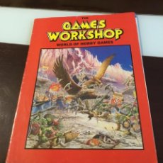 Juegos Antiguos: ANTIGUO CATÁLOGO THE GAMES WORKSHOP 1992. Lote 159322110