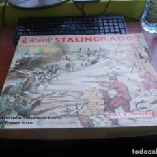 Juegos Antiguos: ¿RESISTE STALINGRADO? REF. 023 SERIE WARGAMES. NIKE & COOPER ESPAÑOLA, NAC 1.984. COMPLETO, FALTA 1. Lote 159555346