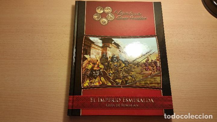 EL IMPERIO ESMERALDA. LEYENDA DE LOS CINCO ANILLOS (LEYENDA DE LOS 5 ANILLOS) ROL (Juguetes - Rol y Estrategia - Juegos de Rol)