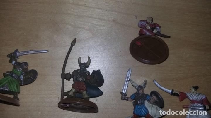 Juegos Antiguos: figuras de rol desconozco juego. samurais soldados guerreros robot.... - Foto 4 - 159890974