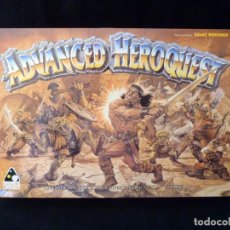Juegos Antiguos: CAJA VACIA ADVANCED HEROQUEST, EN CASTELLANO. GAMES WORKSHOP - DISEÑOS ORBITALES. REF. 5000. PERFECT. Lote 159940046