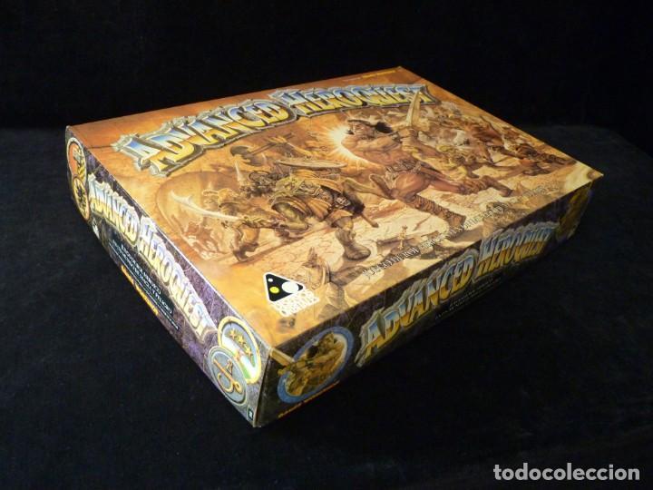 Juegos Antiguos: CAJA VACIA ADVANCED HEROQUEST, EN CASTELLANO. GAMES WORKSHOP - DISEÑOS ORBITALES. REF. 5000. PERFECT - Foto 2 - 159940046