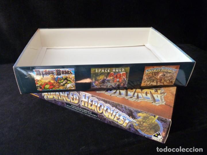 Juegos Antiguos: CAJA VACIA ADVANCED HEROQUEST, EN CASTELLANO. GAMES WORKSHOP - DISEÑOS ORBITALES. REF. 5000. PERFECT - Foto 4 - 159940046