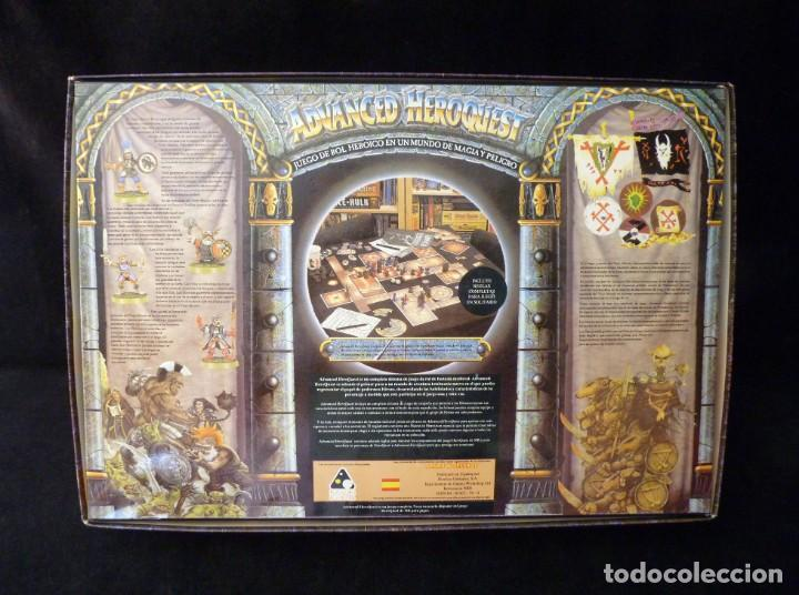 Juegos Antiguos: CAJA VACIA ADVANCED HEROQUEST, EN CASTELLANO. GAMES WORKSHOP - DISEÑOS ORBITALES. REF. 5000. PERFECT - Foto 8 - 159940046