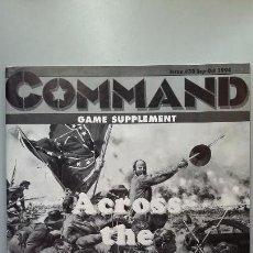 Juegos Antiguos: WARGAME ACROSS THE POTOMAC, REVISTA COMMAND. Lote 159990634