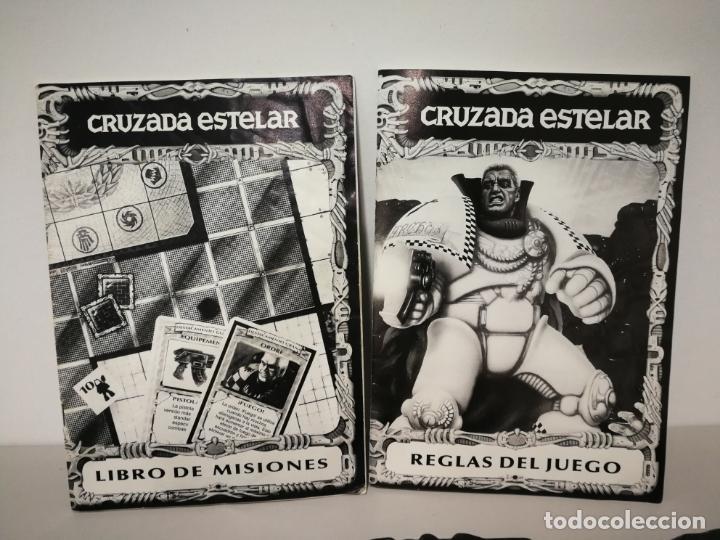 Juegos Antiguos: CRUZADA ESTELAR MB COMPLETO - Foto 13 - 160358922