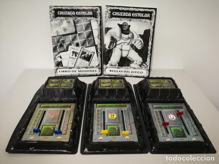 Juegos Antiguos: CRUZADA ESTELAR MB COMPLETO - Foto 14 - 160358922